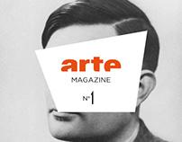 Arte Magazine - Layout Design