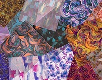 Hostel Pattern Collection: Digital Heat Transfer Prints