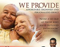 Caliman Funeral Home | Flyer Design