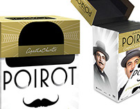 Poirot: The Complete Cases Collection - Package design