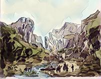 Cheddar Gorge (after William Widgery)