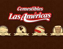 Comestibles Las Americas Diseño Web