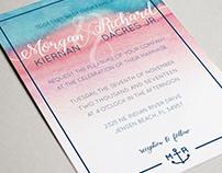 Wedding Invitation + RSVP