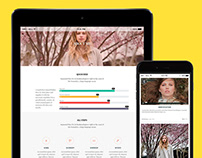 Tablet View - Ink WordPress Theme