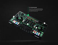 Serato x Roland DJ-808