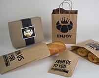 King Croissant Branding
