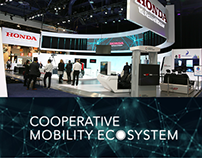 Honda Cooperative Mobility Ecosystem @ CES 2017