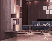 3D interior shot