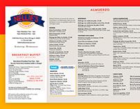 Menu Redesign: Nellie's Restaurant
