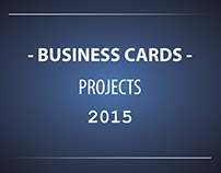 Business cards design 2015