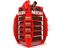 Nescafe pillar