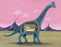 Home Sweet Brachiosaurus
