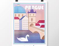 Illustration Series: Travel Posters