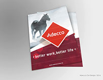 Adecco Advertising Design / 2016