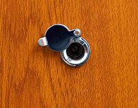 How to install a door viewer peephole?