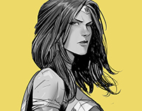 Wonder Woman yellow