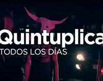 Quintuplica - Claro Paraguay
