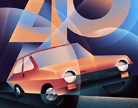 40° Anniversario FIAT Ritmo