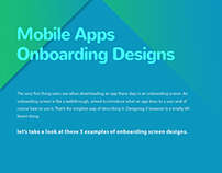 #FreePSD :Mobile Onboarding Material Design Concept