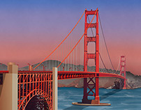 Illustration of San Francisco