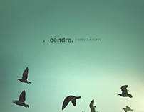 / / cendre. album cover logo