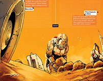 Martian, three page story for WIRED