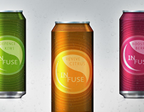 Infuse - A healthy boast - Drinks Branding