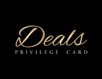 Deals (Privilege Card) Brand Identity