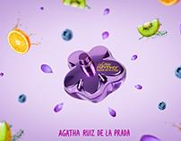 Agatha Ruiz de la Prada - Fotocomposición