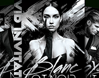 B&W Promo Fashion Flyer Template
