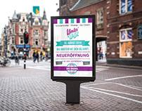 Wonder Waffel Billboard Poster | Reopening