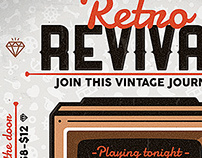 Retro Revival - Flyer & Poster Template