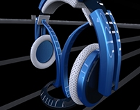 Test Headphone - Modelagem e Render