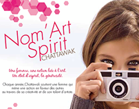 Flyer Nom'Art Spirit - Chattawak