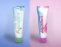 Aquadent Toothpaste Herbal & Kids Packaging