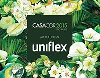 Uniflex Apoiadora Casa Cor 360º