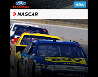 Ford Racing Mobile Site