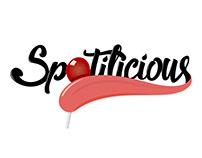 Spotilicious Logo Design