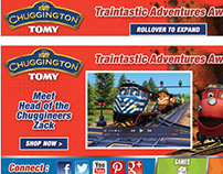 CHUGGINGTON - EXPANDABLE AD UNIT WITH VIDEO
