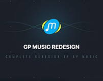 GP Music Redesign Concept