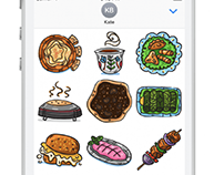 Lebanese Food iMessage Stickers