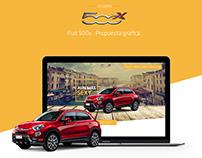 Fiat 500x (Landing Page)