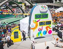 Toronto 2015 Pan Am/Parapan Am Games Countdown Clock