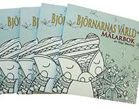 Björnarns värld coloring book