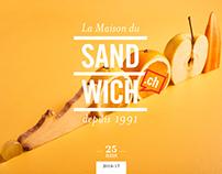 Maison du Sandwich - Brochure