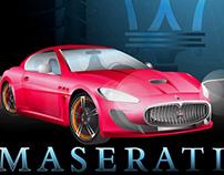 Maserati Illustration