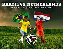 Brazil Vs. Netherlands