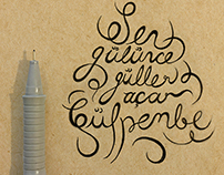 typography lyrics