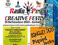 Radio Pescia Creative Festival - Flyer