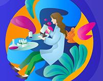 Bio Science - illustration